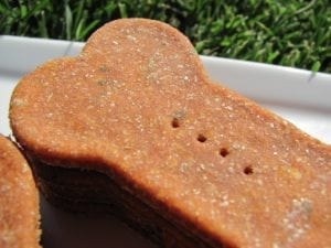 A healthy tomato dog treat for your dog to enjoy.