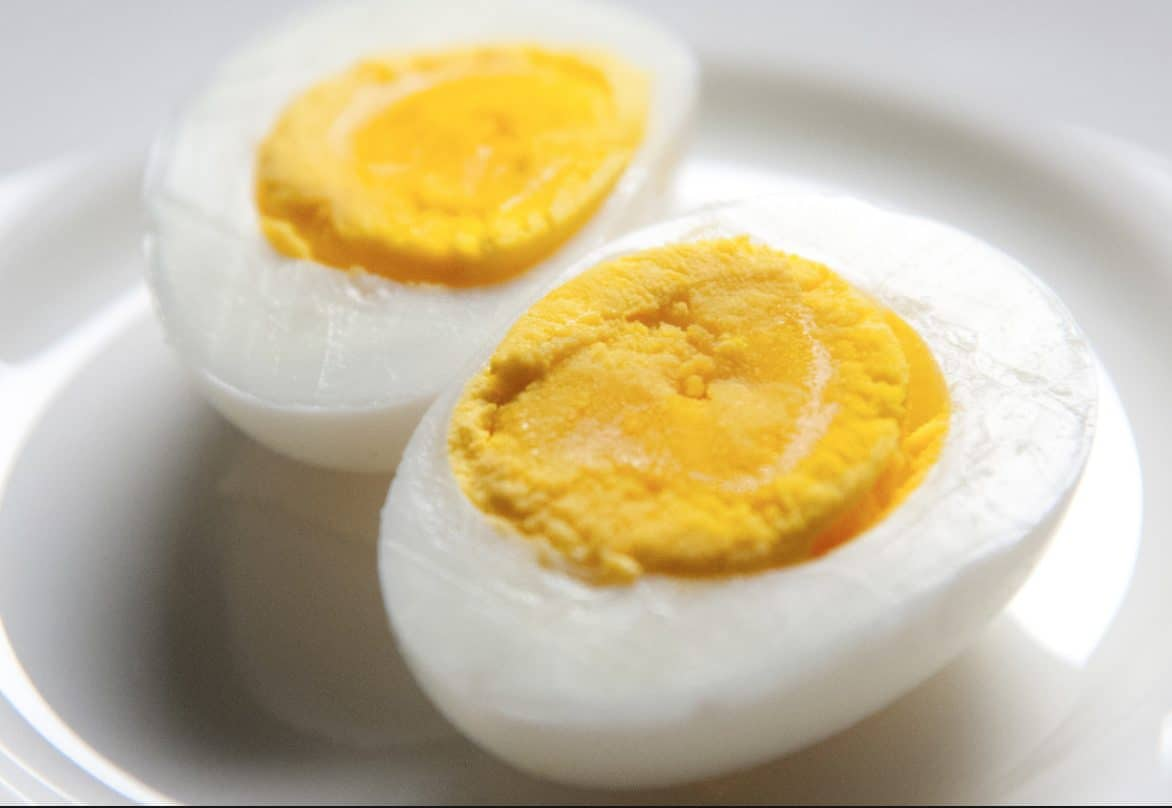 The best way for dogs to eat eggs is by boiling the egg.