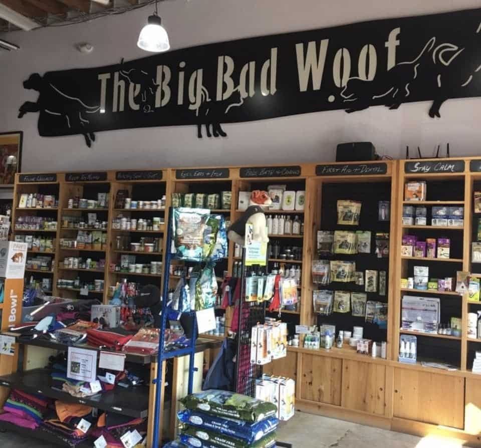 The Big Bad Woof Pet Shop for dog supplies